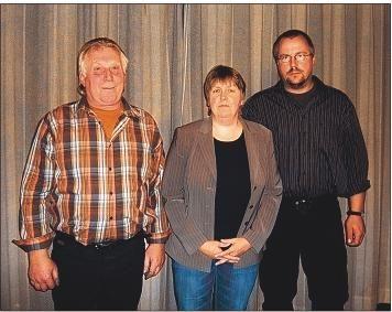Die Klappholzer Bürgermeisterin mit ihren Stellvertretern
