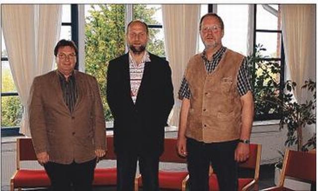 Bürgermeister und Stellvertreter Gemeinde Tolk