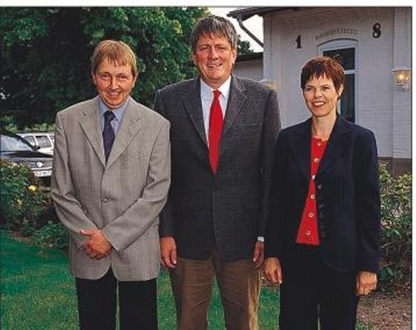 Bürgermeister und Stellvertreter Gemeinde Nübel