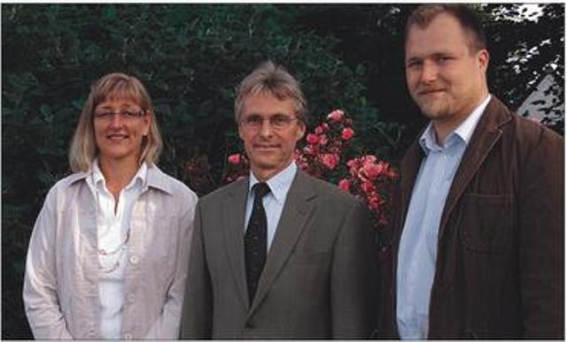 Bürgermeister und Stellvertreter Gemeinde Schaalby