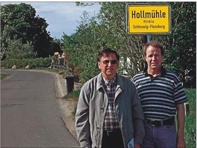 Ortsschild Hollmühle